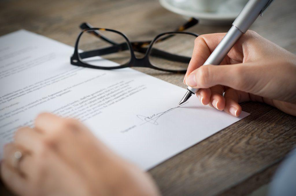 podpisanie aktu dziedziczenia