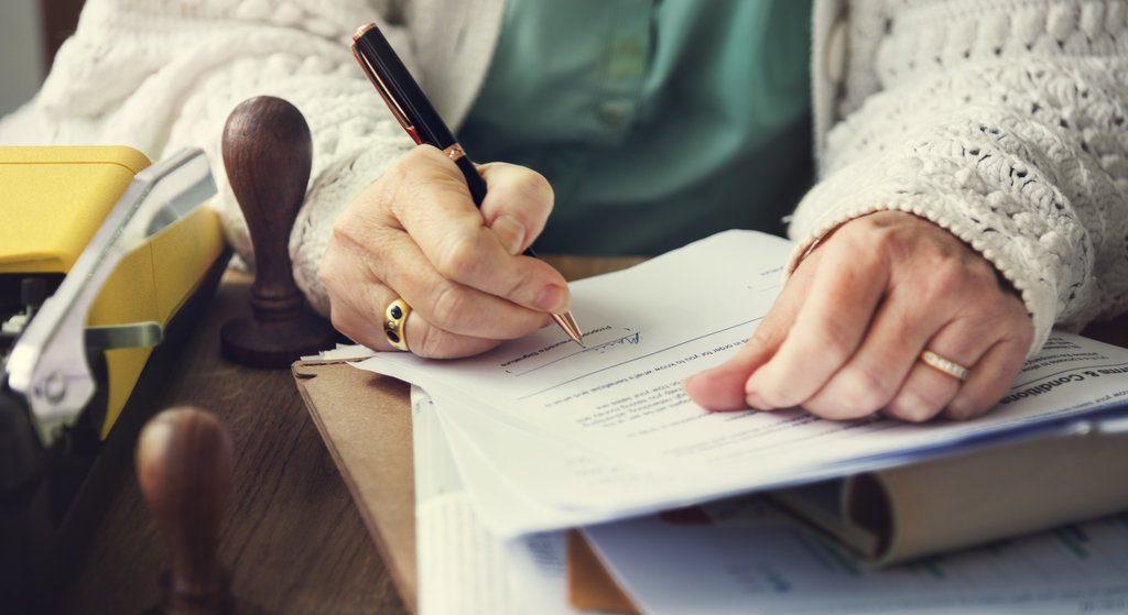Podpisanie dokumentów u notariusza